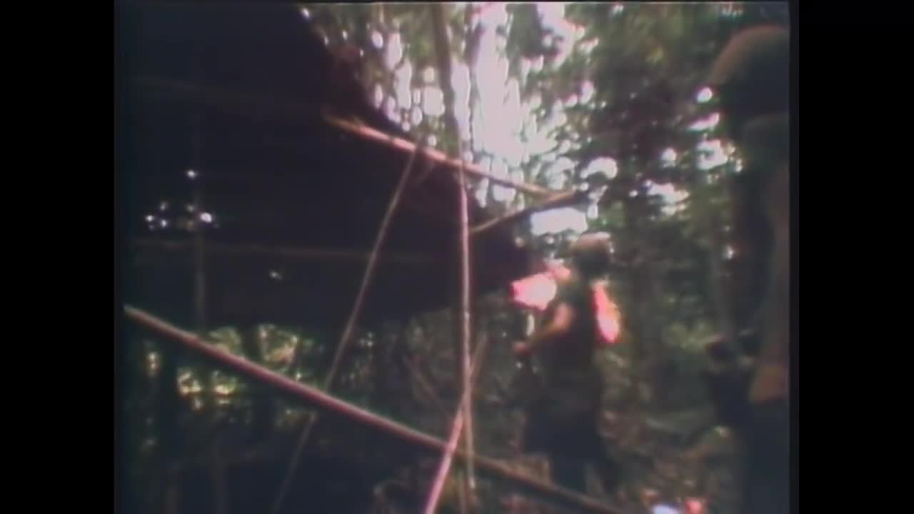 Vietnam combat footage 1970. .. why don't they napalm the whole area before going in?