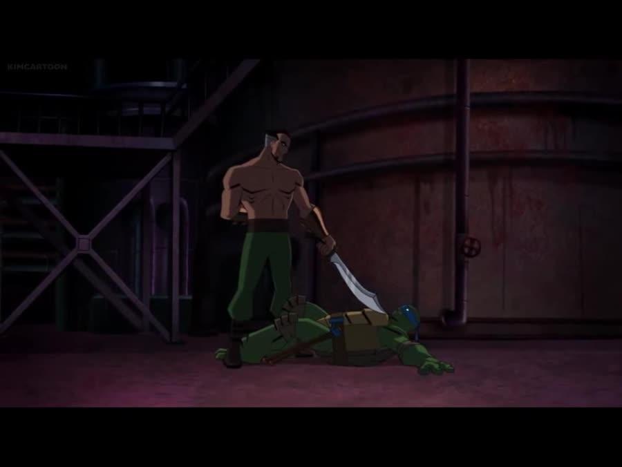 Ra's & Shredder vs Batman & TMNT. Batman vs TMNT.. ok that fight was pretty sick