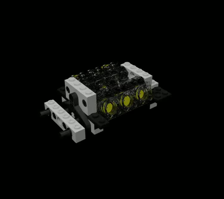 I made this for you. Hello, this is a small demo that I made. It's a lego car engine. I plan on buiiding the whole car. Tell me what you think... What program did you use? Out of curiosity.