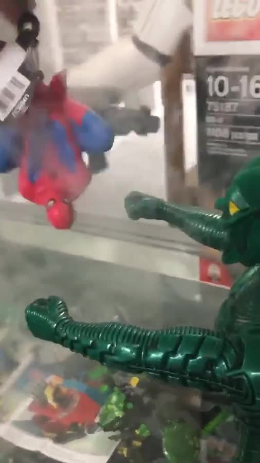Sleeeeeeeeeep. A video my Roommate filmed at his job... please don't drug me with green goblin. USE SPIDER GWEN OR ANY OTHER FEMALE SPIDER TOTEM USE THAT ISN'T A CRAZY BITCH.Comment edited at .