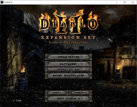 Diablo II LOD video. video is kinda loud. It took a very long time for the video to upload and it's just like, a minute long. I shudder to think how long a 3 ho