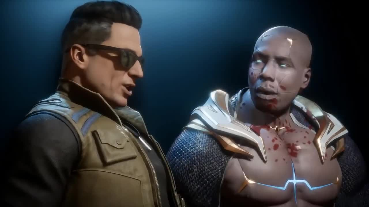 Comediality. I swear, Fatalities get more creative with each new installment... Johnny's getting a lot more attention. Good on NetherRealm.