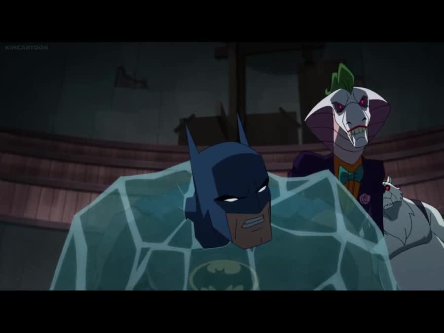 Mutated Batman. Batman vs TMNT.. Oh my God - DC managed to make an un-sexy Harly Quinn furry.