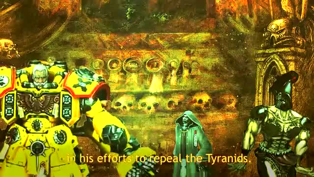 Too Cruel. I just love this bit... Even though there's no 'bad guy' in Warhammer 40K, I feel like anyone psycho enough to make the Inquisition do a double take would pretty much fit the bill.