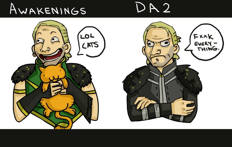 DA2. .. da2 was awful. Completely lacked any originality.