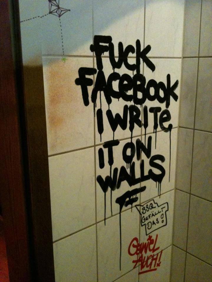 Facebook Wall!. .