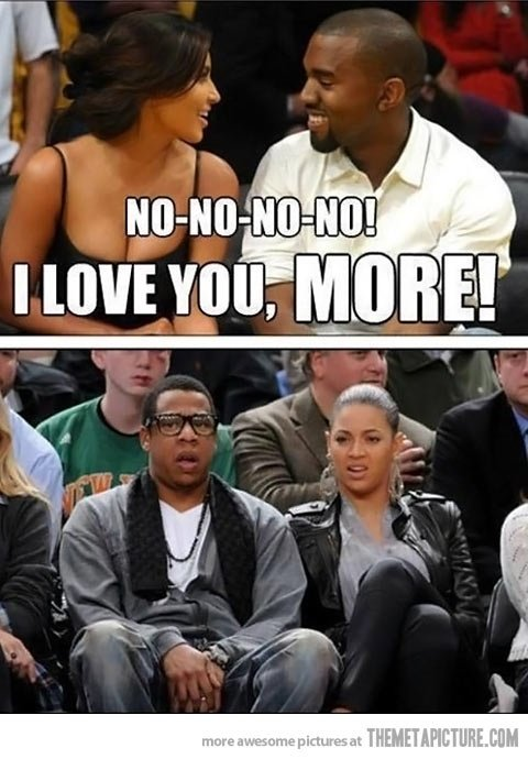 1 week anniversary!. hate that ... Jay z is looking straight up fatherly.