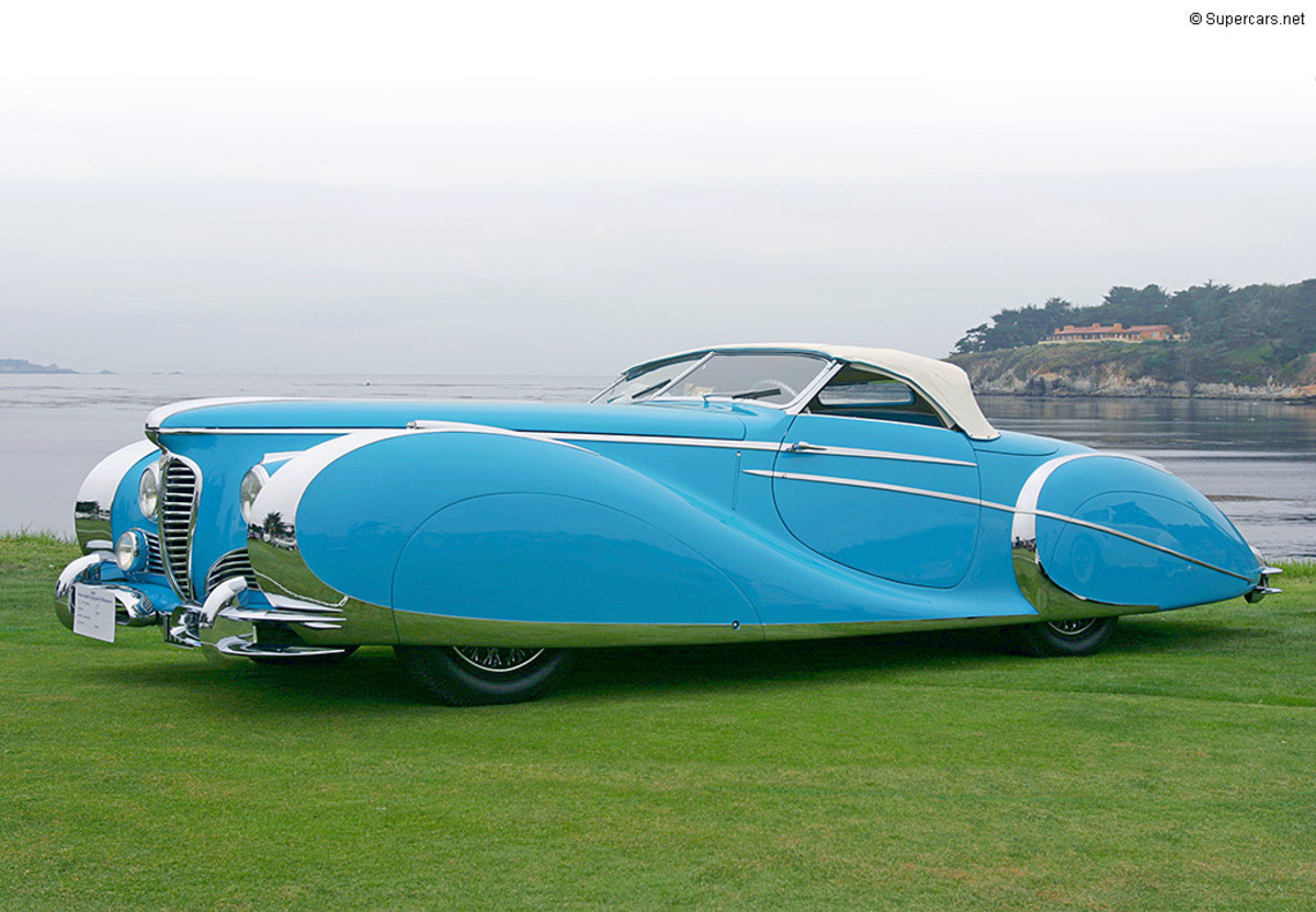 1949 Delahaye 175 S Saoutchik Roadster. .. Looks so much better than modern cars