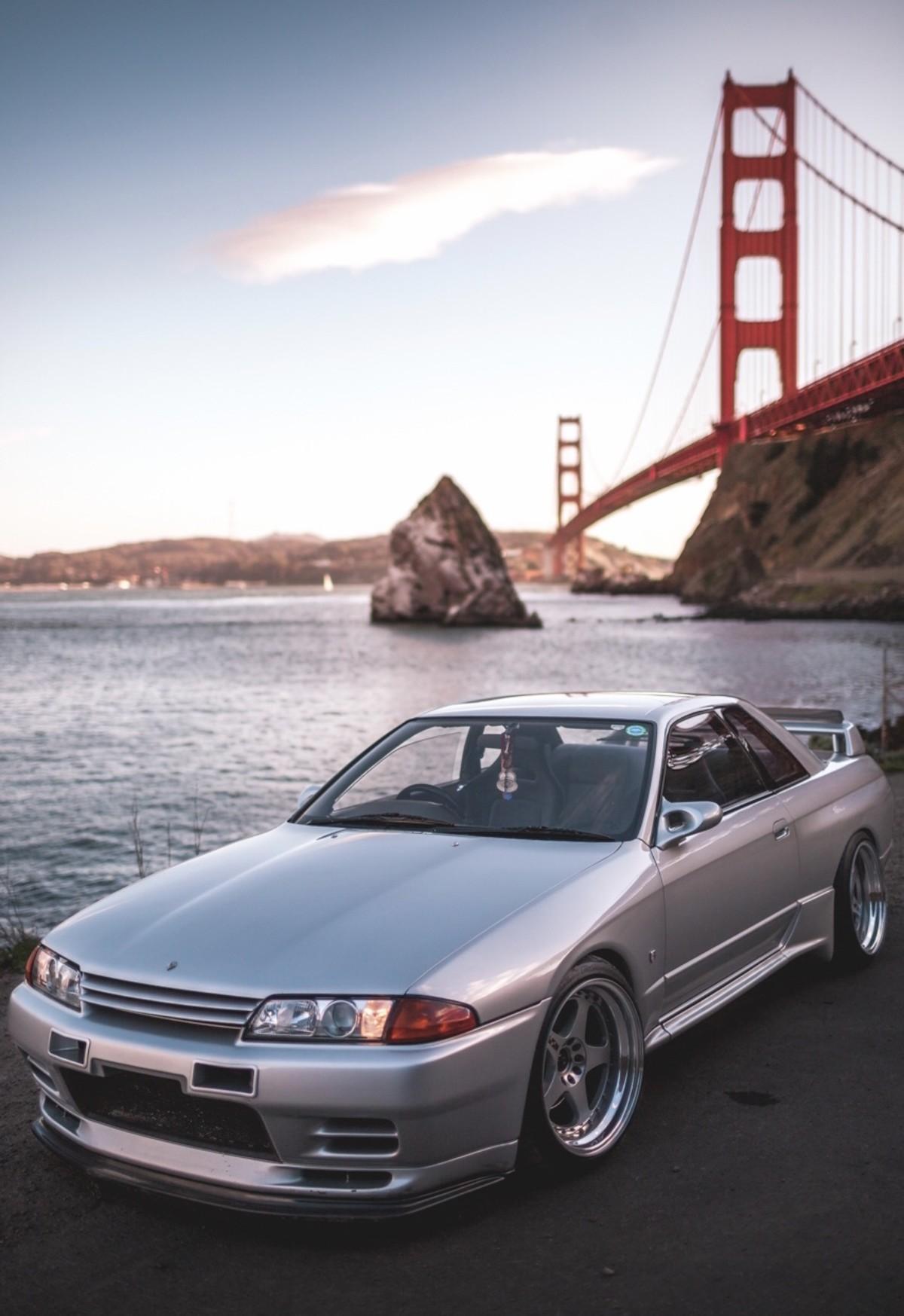 1991 Nissan Skyline GT-R R32. .