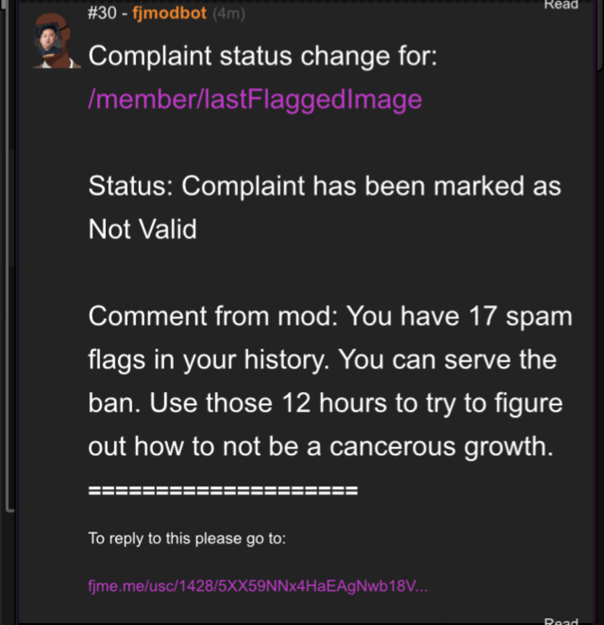 241:outta context: fjmodbot I am sorry release flagged posts. Release my flagged post so I can see what you flagged moderator!I am sorry I just want to see them