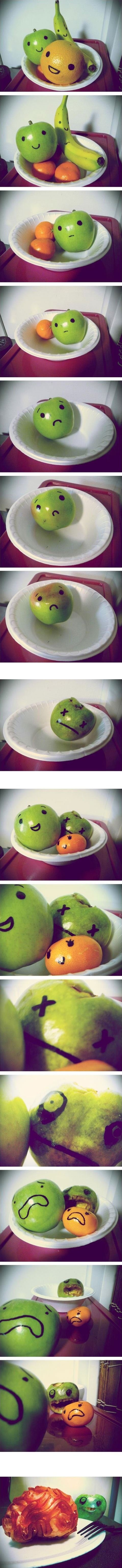 A fruit story.... I dont know what to write.