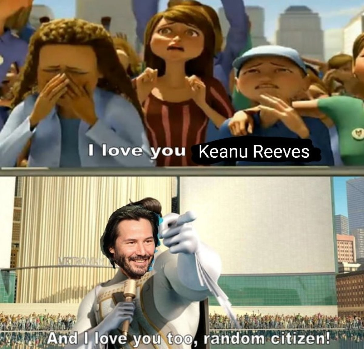 A hero the gamers deserve. .. Keanu reminding us that we're all breathtaking was easily the #1 highlight of E3