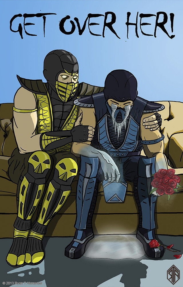 A Sub-Zero Valentines. its ok man, well go do a babality on jax later. Happy Valantines Day FJ... As long as i can spank my monkey, my loneliness shall be drowned in endless kinky porn vids
