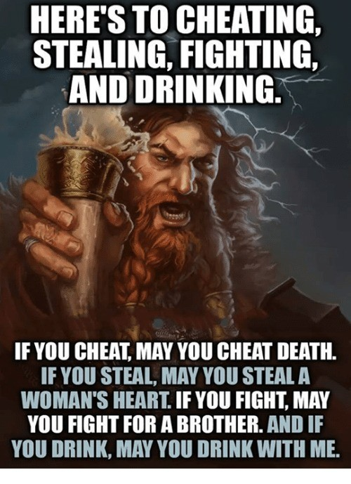 a toast for FJ. RAISE YOUR DRINK!!!!. HEINE' S GREATING. FIGHTING. If YIN] GMAT. MAY YOU CHEAT DEATH. If YIN] STEAL MAY STEAL A WI] MAH' S HEART. If YOU EIGHT.