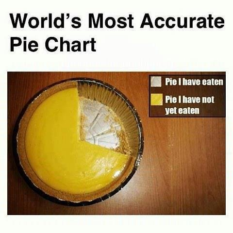 Accurately accurate. Chomp. World' s Most Accurate Pie Chart git Hal have eaten gal PM have Ml get eaten. i could go for some pie now