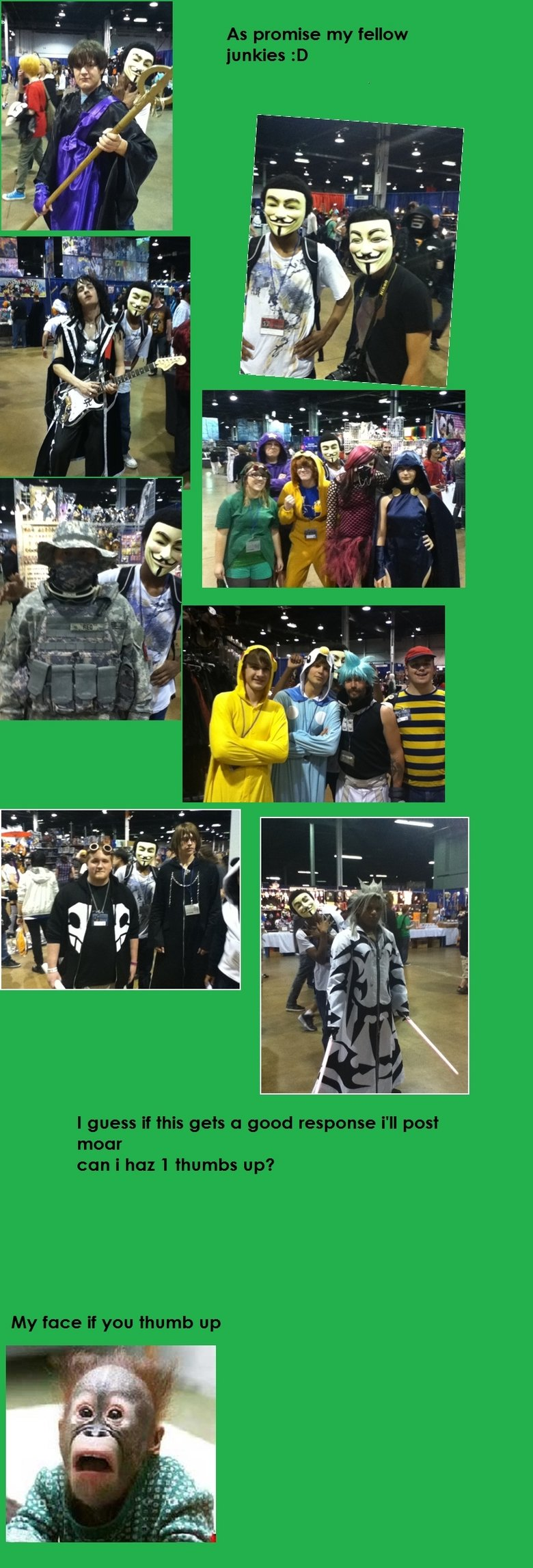 Acen pictures. As promised .. i saw like 12 anons...