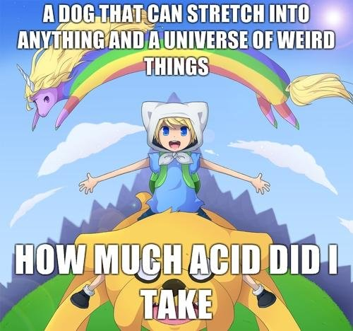 "acid is good. lick lick wtf. whens STE! - rif A iii' mum"". <Anybody else think sarcasm (first one didnt work grr)"