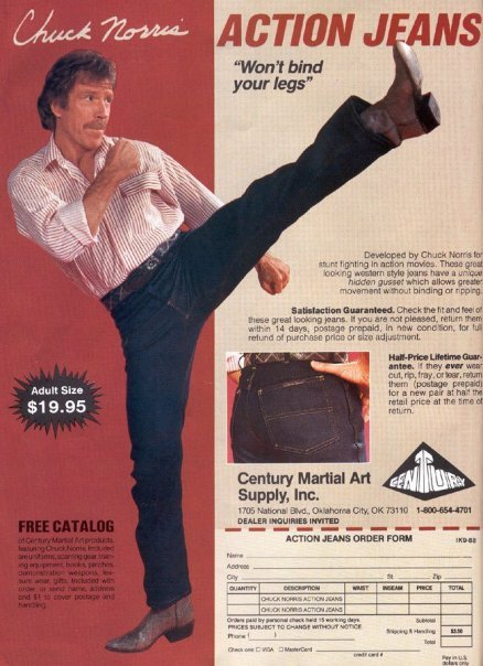 ACTION JEANS!. You know you want to buy them.. Jjholt Size , an 'ilt.. g Century Supply. Inc. ACTION EARS ORDER FEE. my grandpa wares those