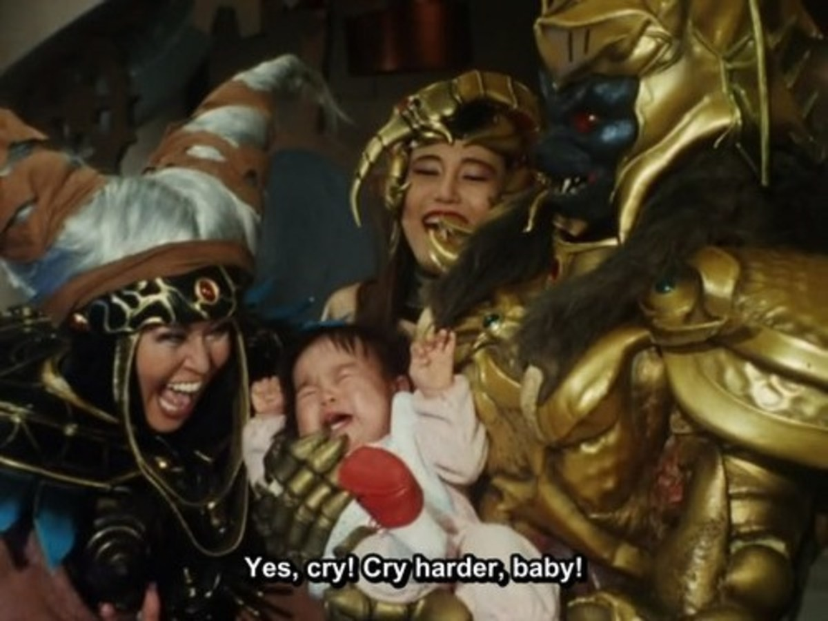 Actual Footage of a Dungeon Master. .. Ah the 90s. When you could get away with using an actual baby as a prop and making them cry. How I miss them. But I mean we've got HD porn now so, fair trade.