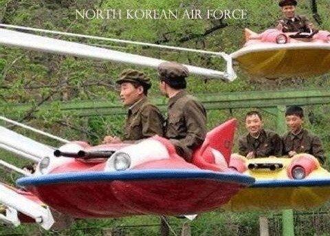 admin's north korean air force. .