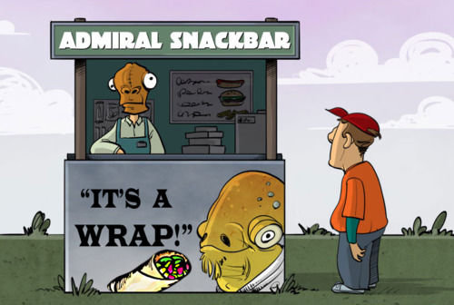 Admiral Snackbar. Don't care if repost, found it funny and decided to share..