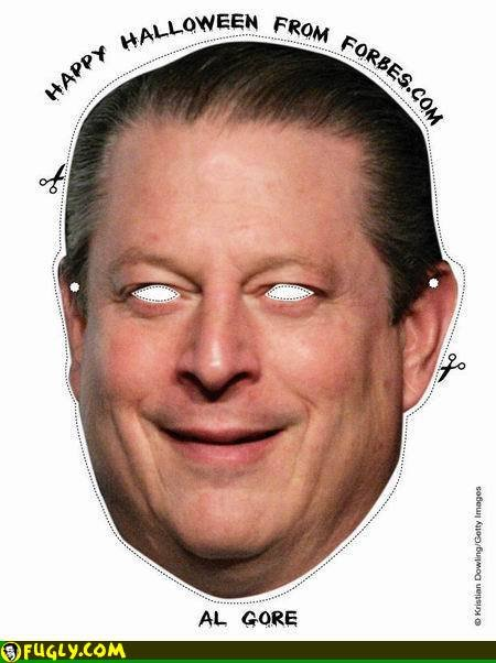 Al Gore Mask. Dress as a poser for Halloween this year!.. are you serial?