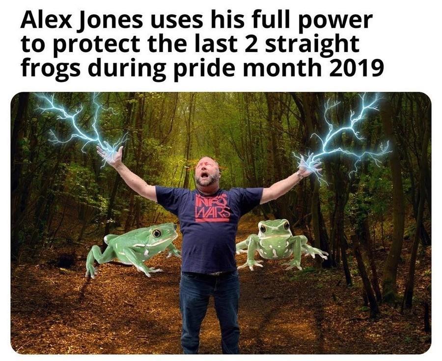 Alex Jones. .. He's their last hope.
