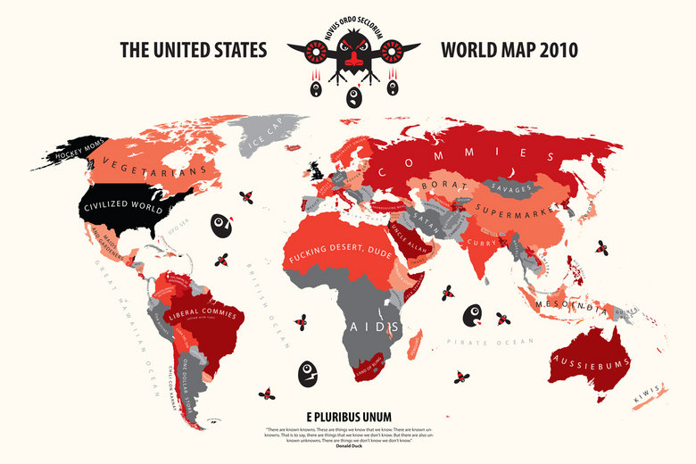American's World Map. lol, sad but true... Us americans are dumbb. WORLD MAP 2010. what does england say