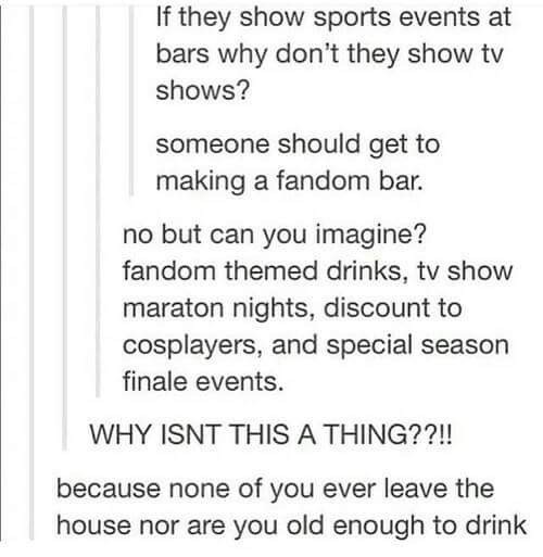 Anime Cafes a (creepy) thing. .. Could you imagine Tumblr trying to run a bar?