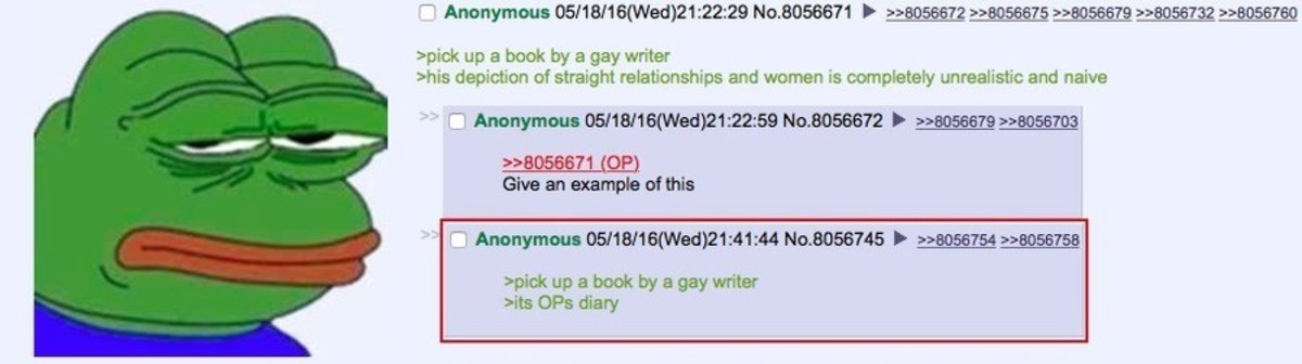 Anon criticizes literature. join list: Chanoholic (311 subs)Mention History.. That's why any sane individual looks at degeneracy like the 50 Shade's series with disdain because its literal fanfiction
