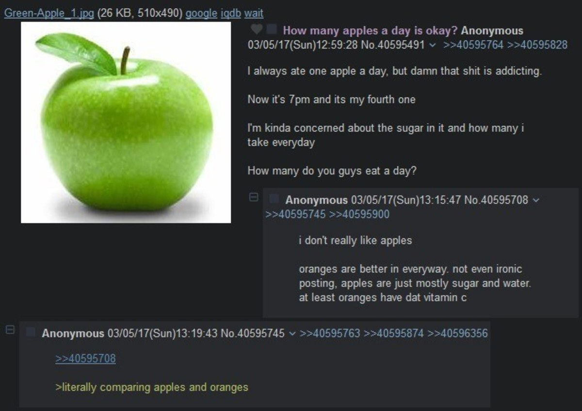 Anon eats fruit. join list: Chanoholic (311 subs)Mention History.. he saw the opportunity he took it