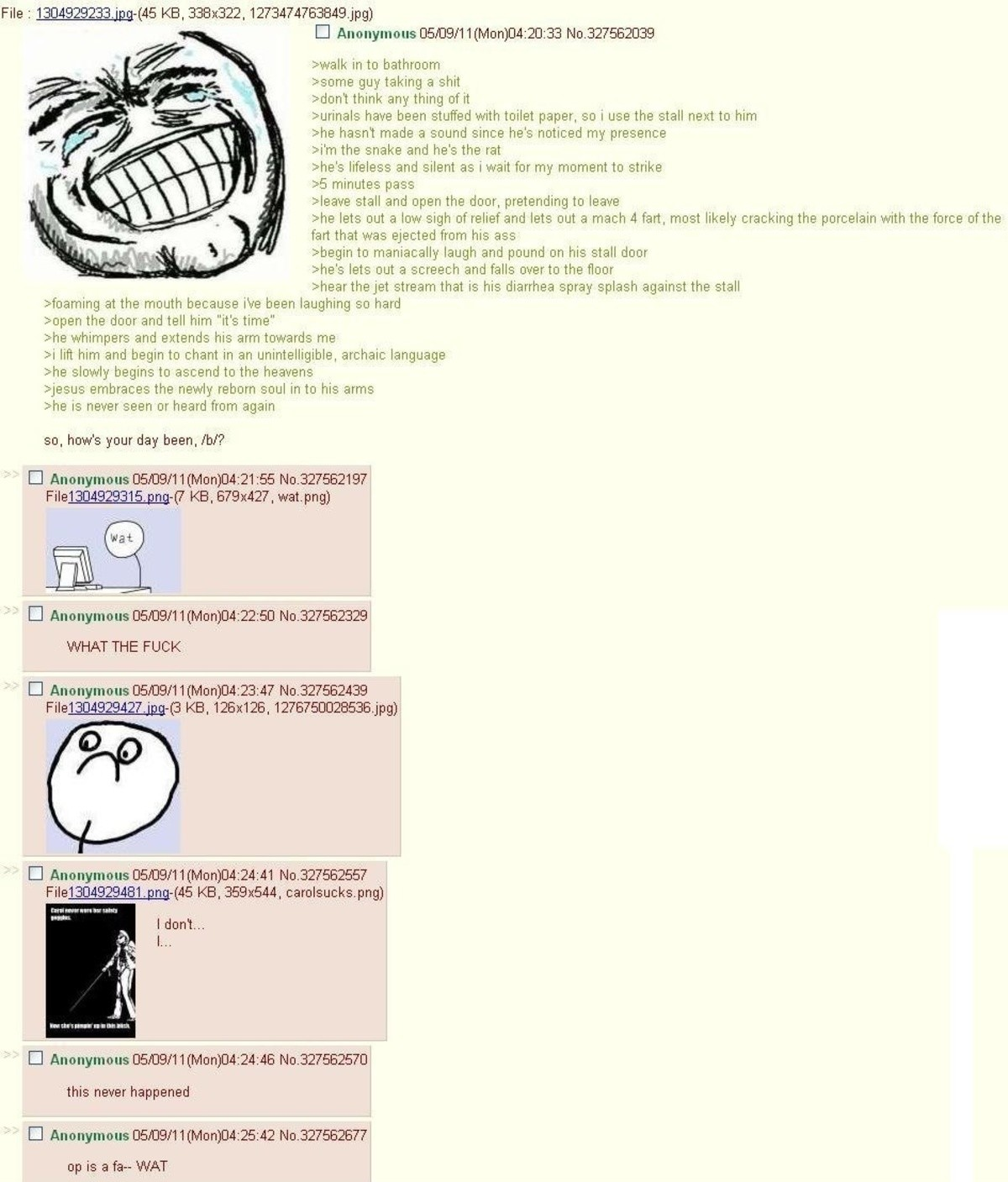 Anon goes to the bathroom. join list: Chanoholic (312 subs)Mention History.. I love this website.....SO MUCH!!!