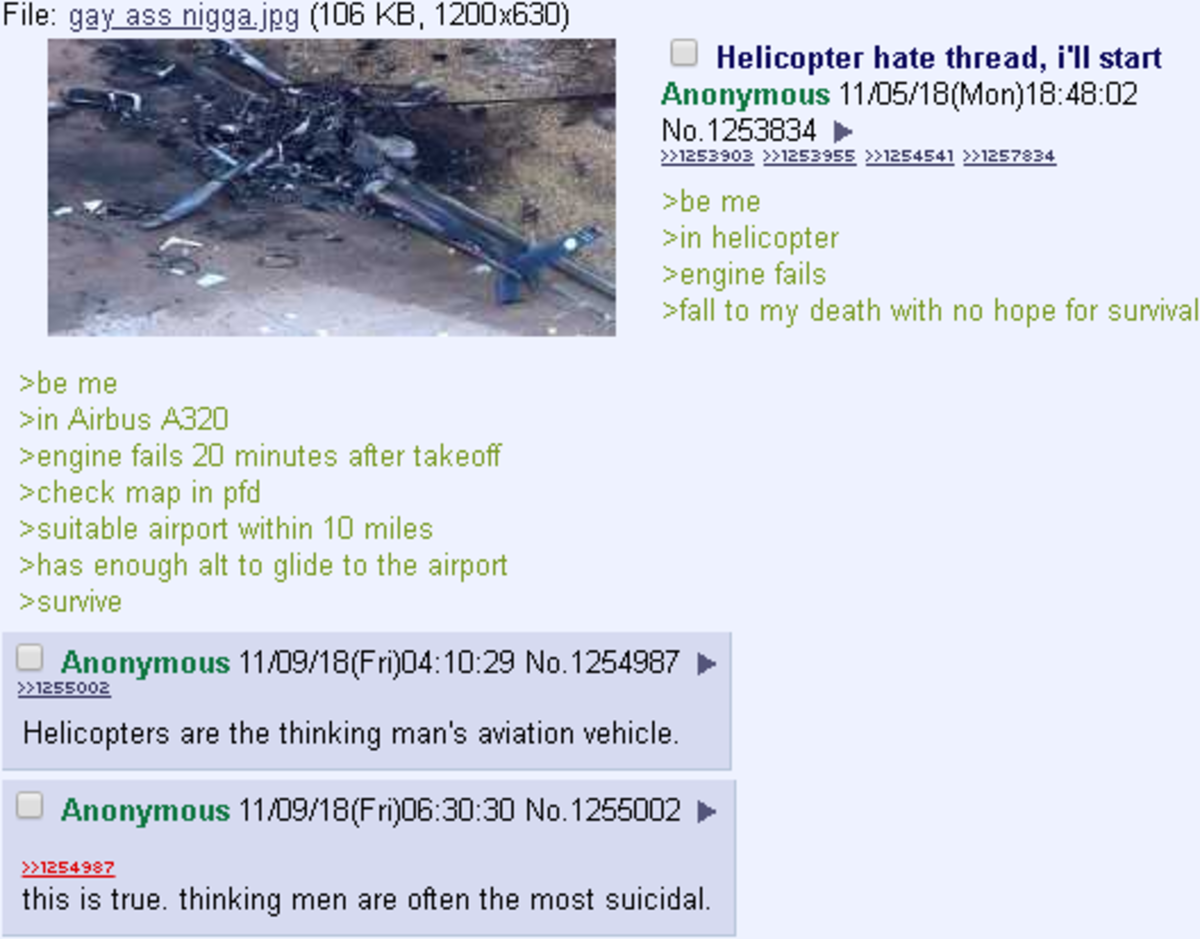 anon hates helicopters. itt: sad cases of autism cause people to not have a sense of humour.. Anon doesn't know how helicopters work.