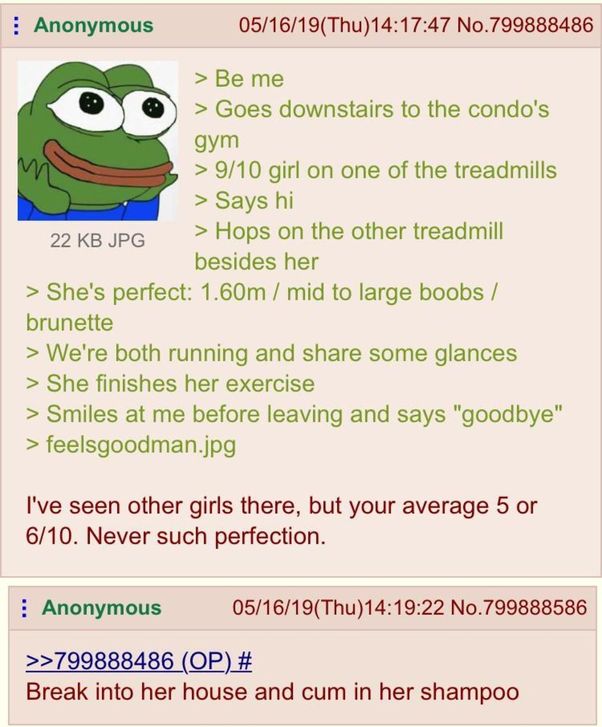 Anon meets girl. .. i just like appreciating beauty. i dont want a relationship or anything but when i see a good looking girl, hell sometimes even a good looking guy who's friendl