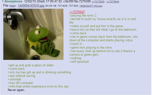 Anon plays the sims. join list: Chanoholic (311 subs)Mention History.. Well done dickhead, you with reality.