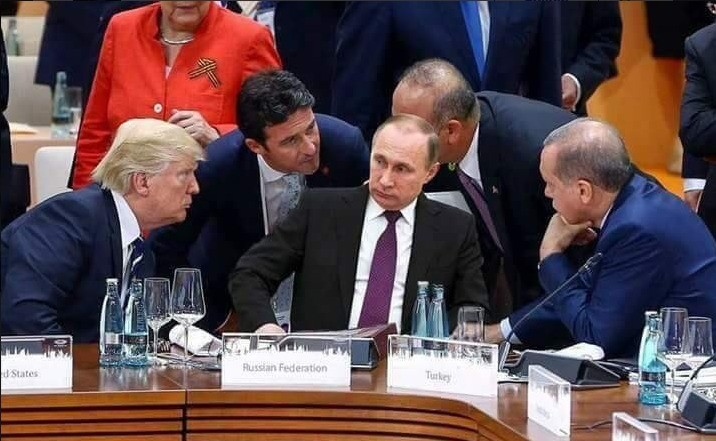 "Another fake viral image. So this image has been shared everywhere, on Facebook and on Twitter for some mystic reason. I've seen headlines such as ""Putin's"