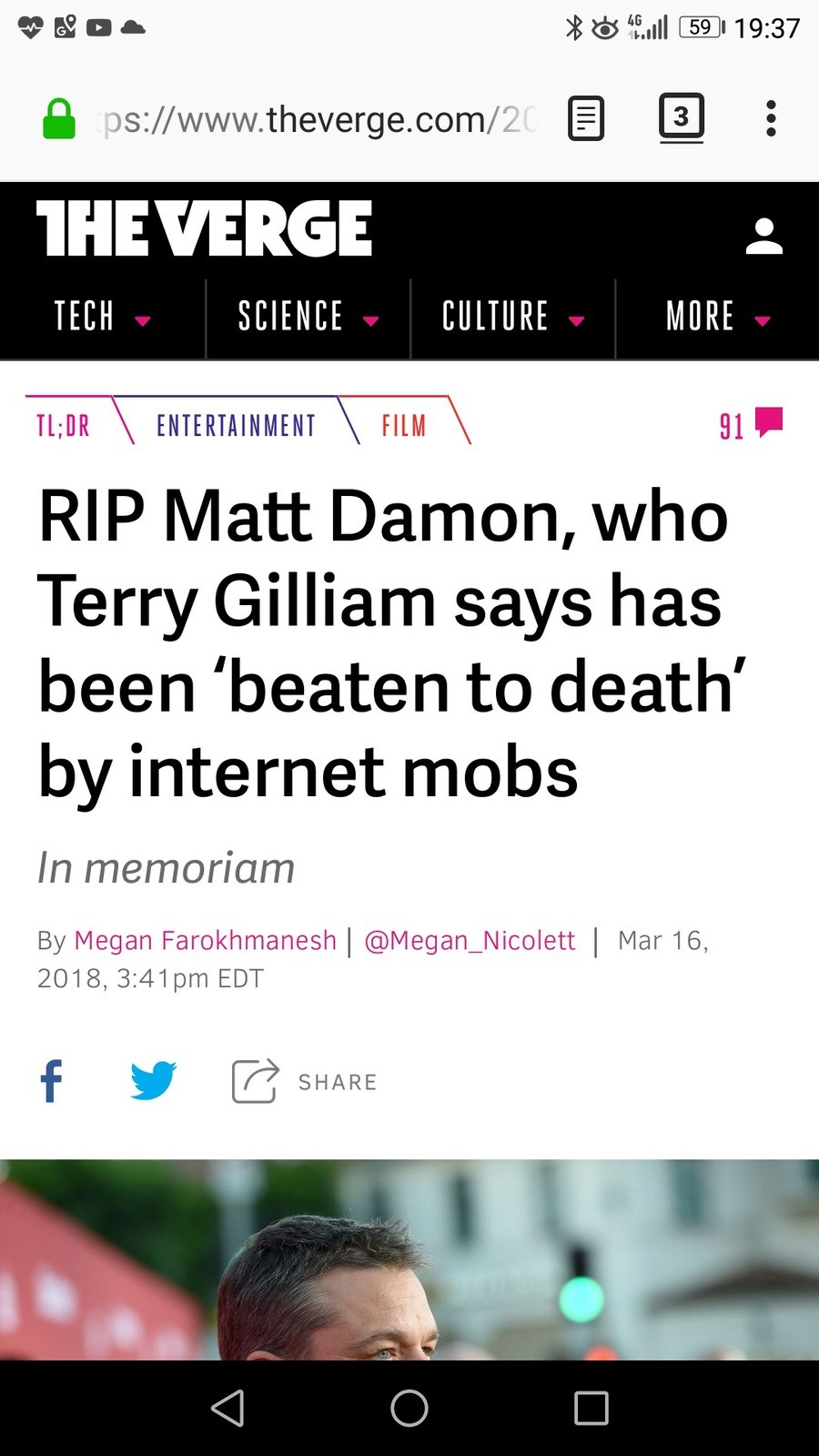 Anybody seen this yet?. I'm not sure if this is true, I only found this story about it. I'm jot sure if the verge is satirical or not.. CEI El TECH SCIENCE PICT