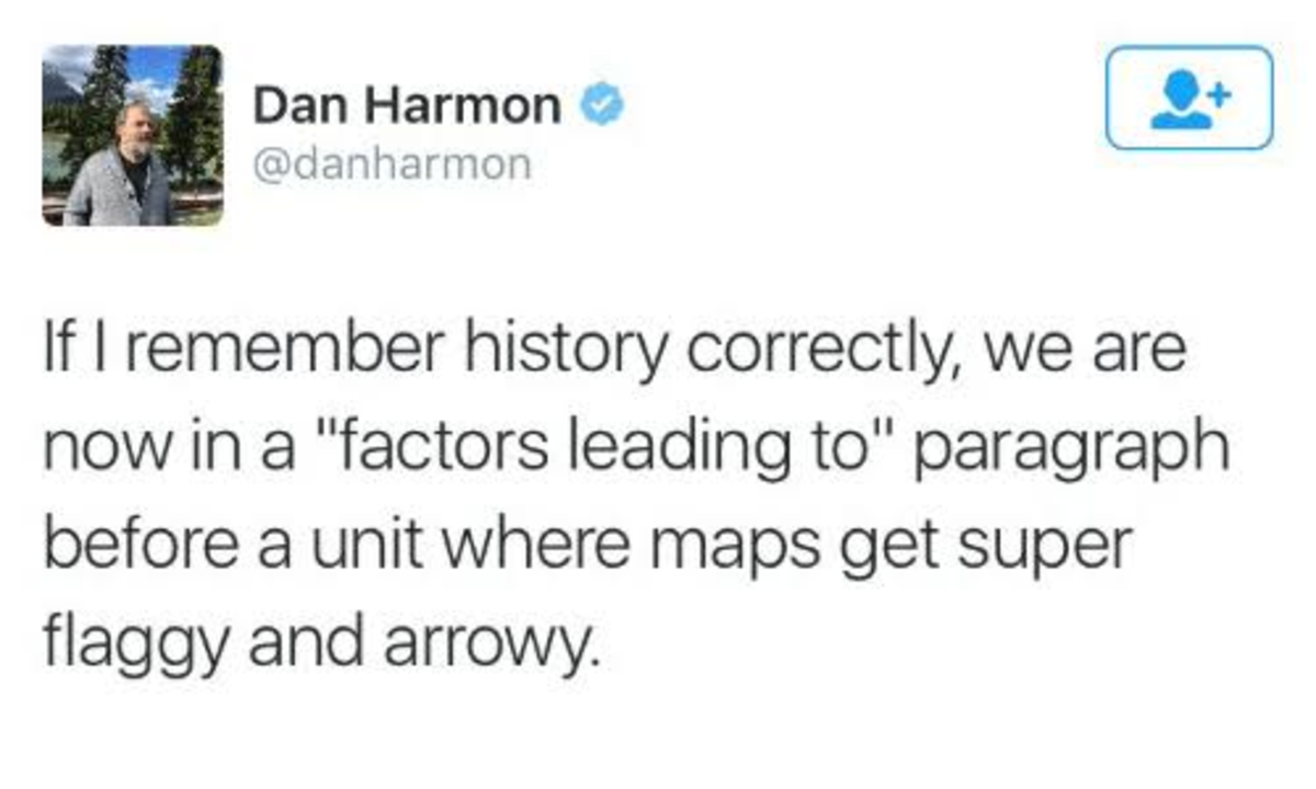 arrow. .. I can't tell whether he's talking about civil war or WW3 but both seem equally likely.Comment edited at .