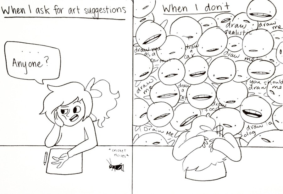 Artist Problem #348. join list: CrazyButCuteButCrazy (913 subs)Mention History Sum Bonus Doodles sloths for scale.. I did a little something Sorry about my extremely bad Paint skills