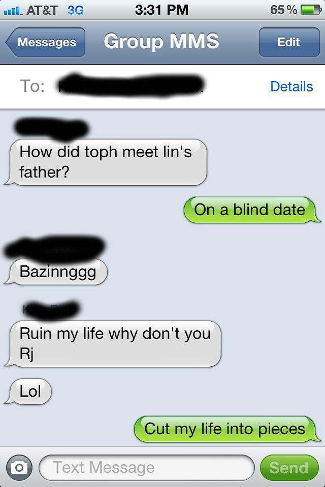Avatar Pun. Friends conversation..