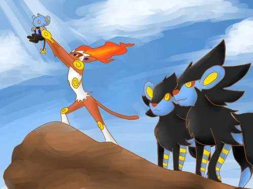 Awesome. Found it on my harddrive had to share!.. Always thought Luxray should have been a dark-type too... just me? Oh okay
