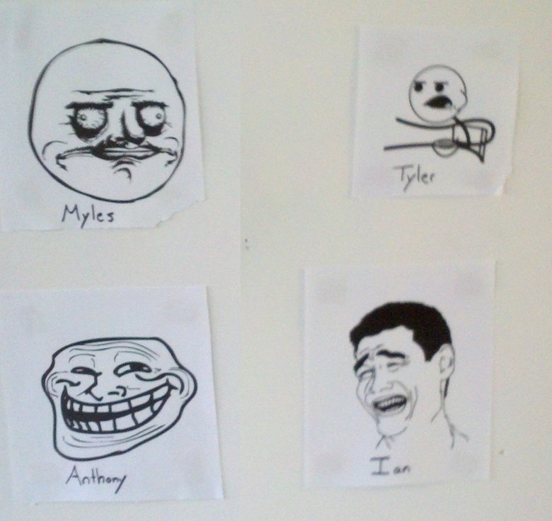 Awesome. The Wall of my Apartment. Pure Awesome..