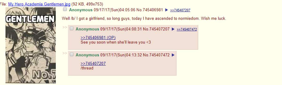 /b/ wishes me luck. . He: M Hero Academia Gentlemen) (92 KB, 499x753) M/ Ml Well /bl I gate: girlfriend, so long guys.. ascended to . Wish me luck. MPA See you