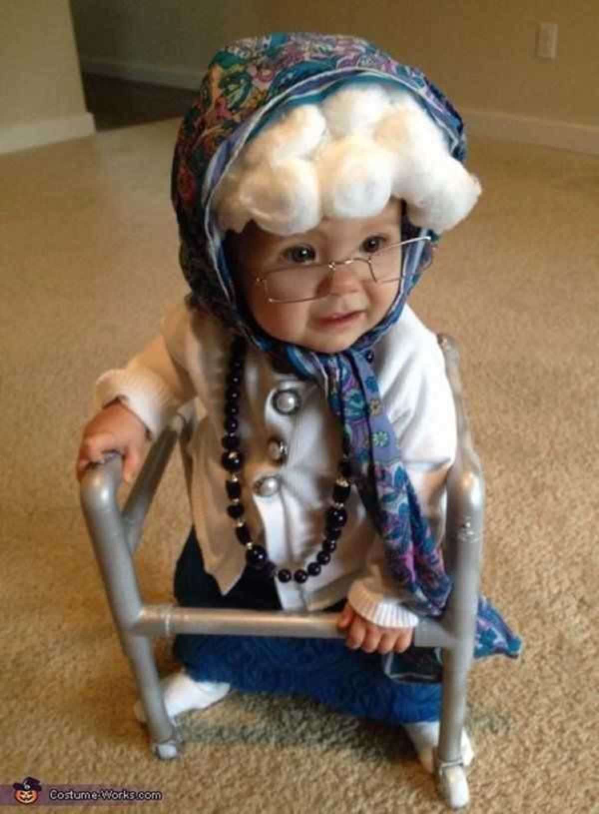 Babysit. .. Sure when babies dress up as old people its cute but when old men dress up in diapers its creepy #doublestandards