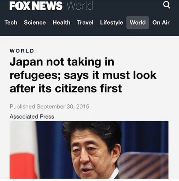 Based Japan. .. Like every country should