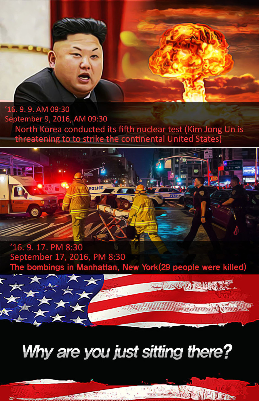 Before Nov.8. .. Some crazy going on in South Korea right now if some didn't know, almost as crazy as the stuff in America right now...
