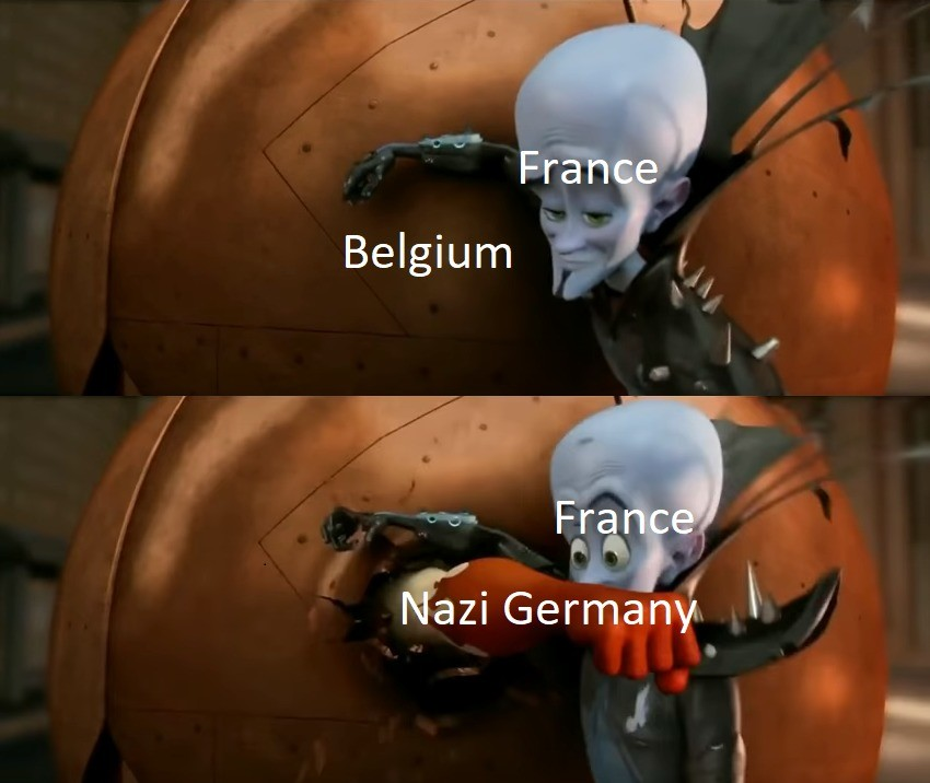 Belgium. .. Twice. It happened twice. You think someone would learn something.