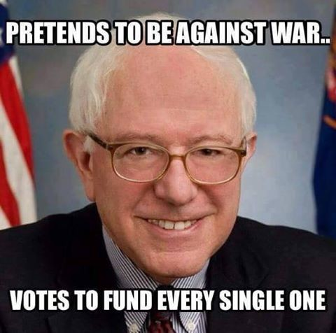 Bernie Has An Abysmal War Record. In 1998, Bernie's name was included as a YEA vote on HR 4655, the Iraqi Liberation Act of 1998, which expressed the sense of C