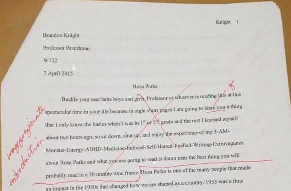 Graduating High School Essay  Thesis Statement Generator For Compare And Contrast Essay also General Essay Topics In English Best Paper Ever Written Example Of Essay With Thesis Statement