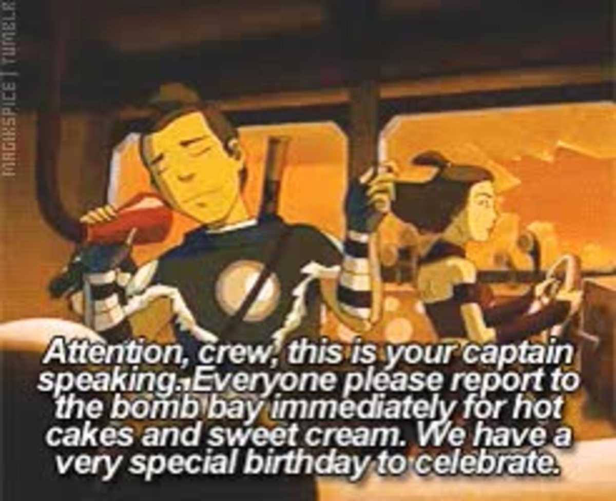 Birthday. .. Even on the day when the fire nation goes full EXTERMINATUS they still humanize the dudes